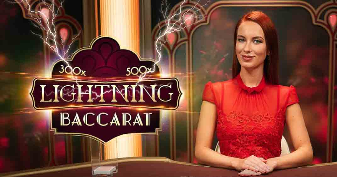Time to get rich in a flash with Lightning Baccarat On Rizk!