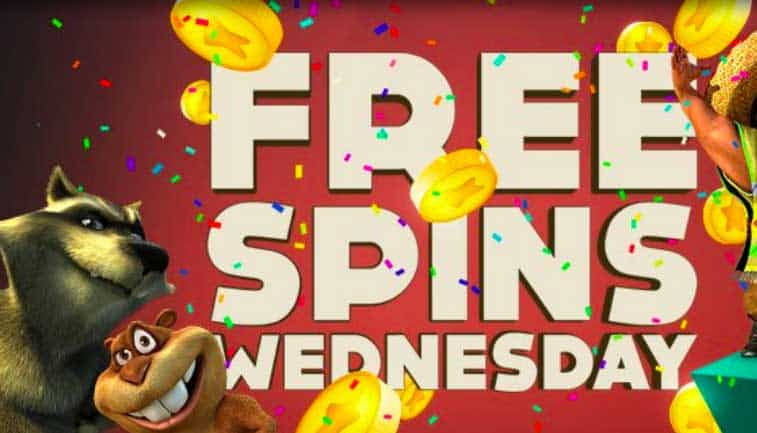 Free Spin Wednesdays at BitStarz were you can get up to 200 free spins!