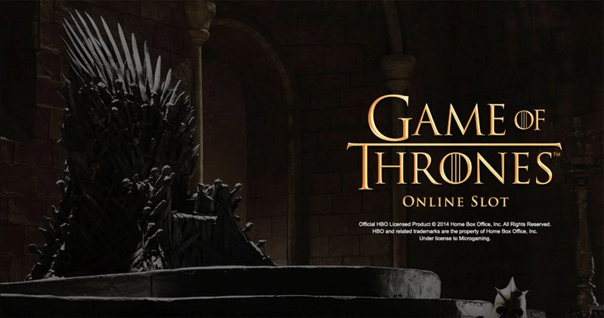Game of Thrones themed slots running at doubled speed until October 28th!