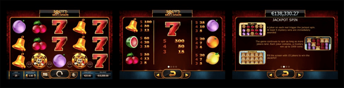 You could win millions playing Joker Millions right now!