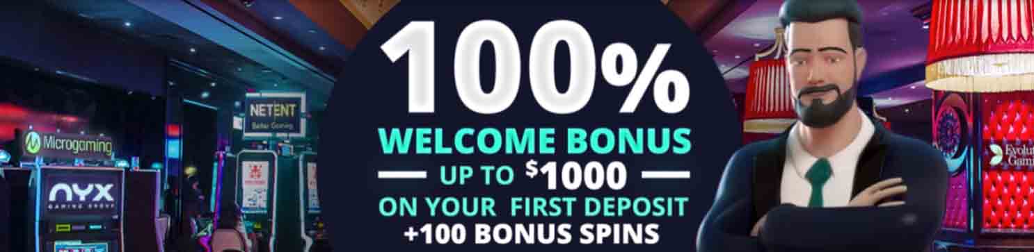 You'll love Jonny Jackpot's welcome bonus + free spins offer!