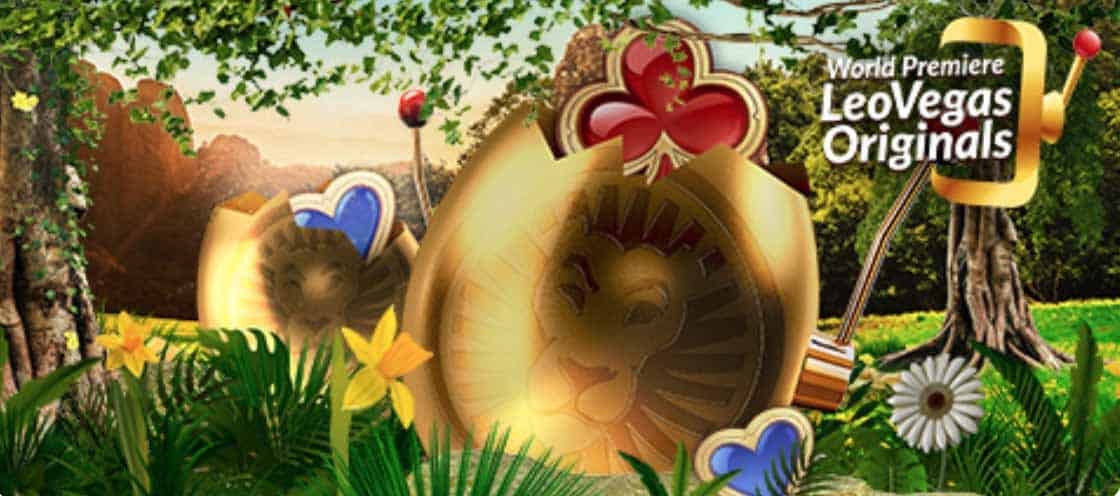 Join the LeoVegas Easter Spin Party promotion running until May 12.