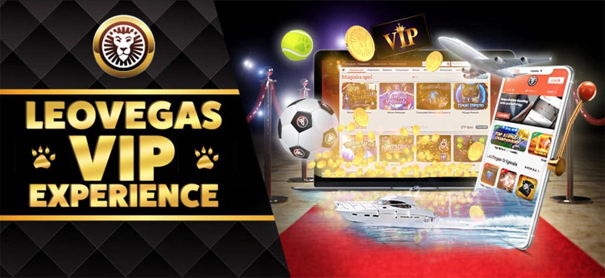 Take advantage of the LeoVegas VIP program and enjoy the perks!