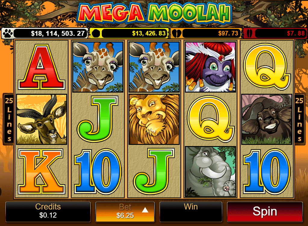 World record progressive jackpot won on Mega Moolah!