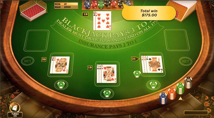 online real money blackjack