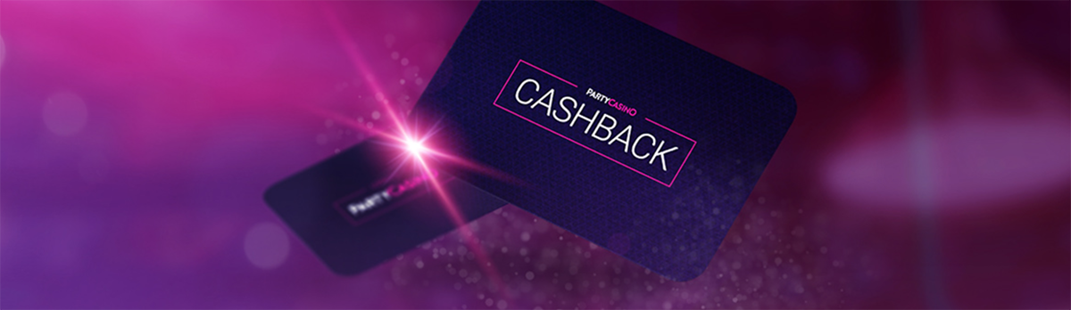 get cash back on wagers at PartyCasino