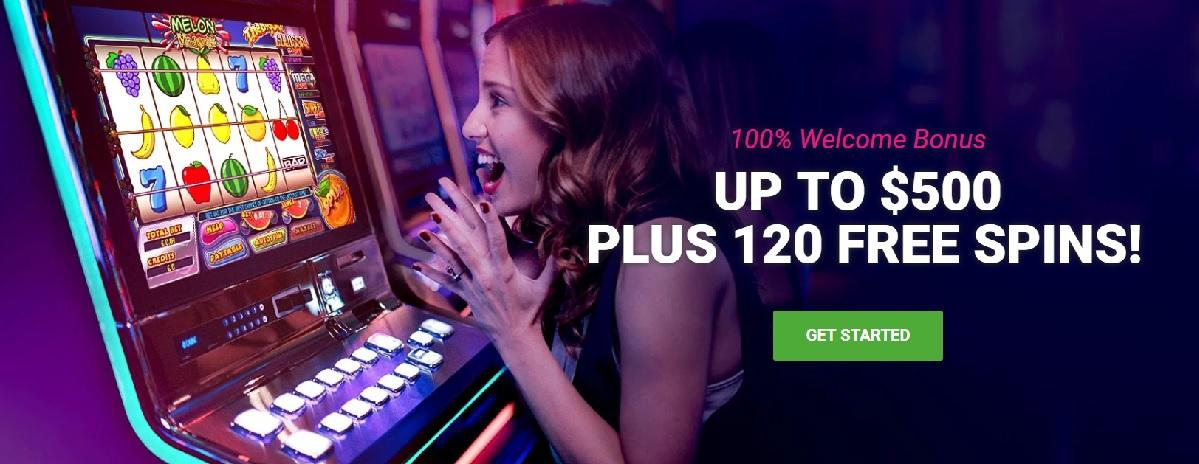 party casino welcome bonus real money