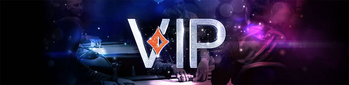 Earn up to 60% rakeback with PartyPoker's Diamond Club Elite!