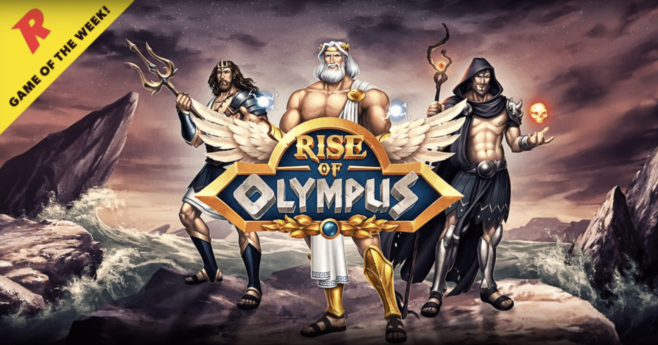 Try your luck at Rise of Olympus from Rizk Casino