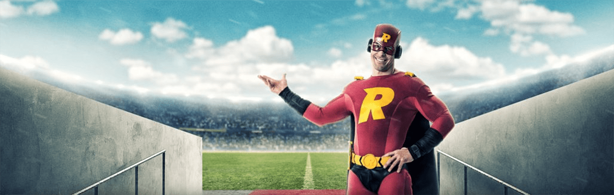 Try sports betting Risk free from Rizk Casino.