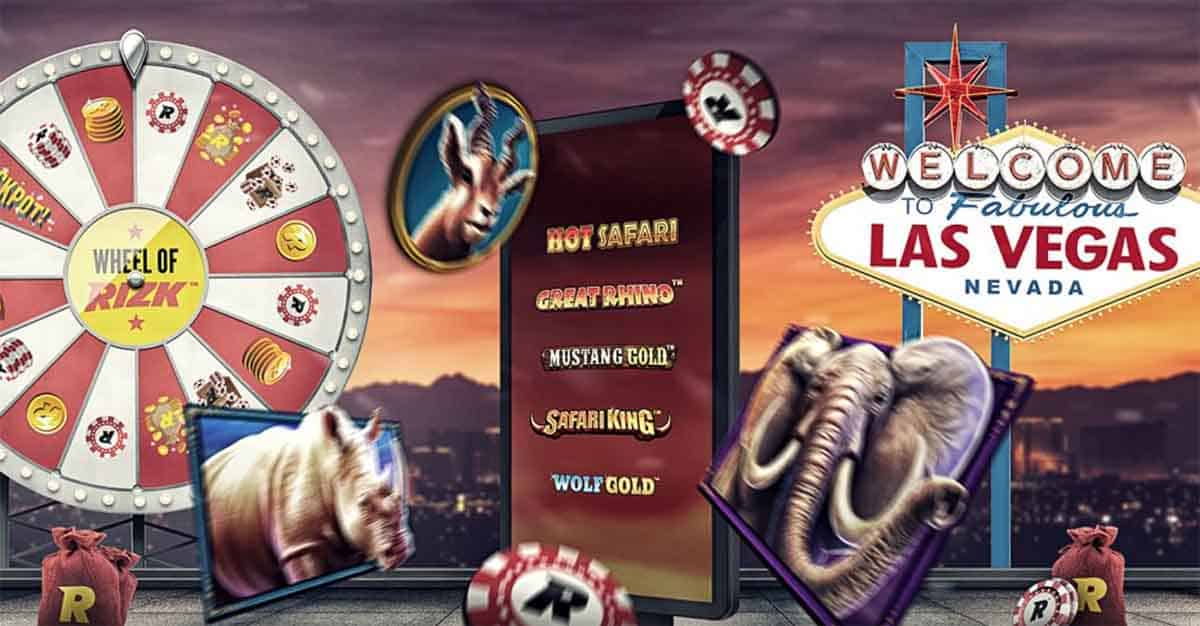 Win a trip to Las Vegas from Rizk