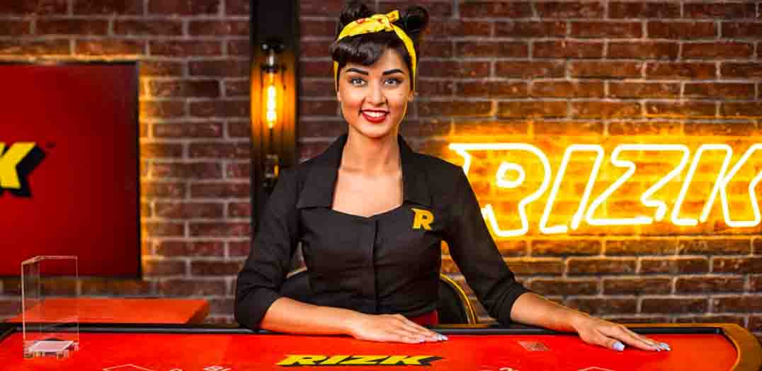 Choose live casino and get up to $250 cash bonus for live table games at Rizk Casino.