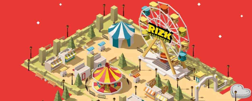 The odds have never been better of wining a prize from Rizk Casino with Rizktoberfest.