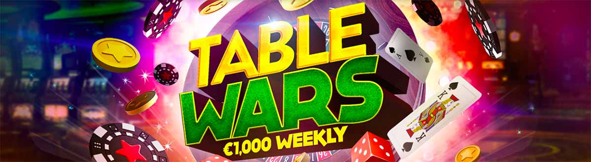 Play BitStarz Table Wars for you share of $1000!