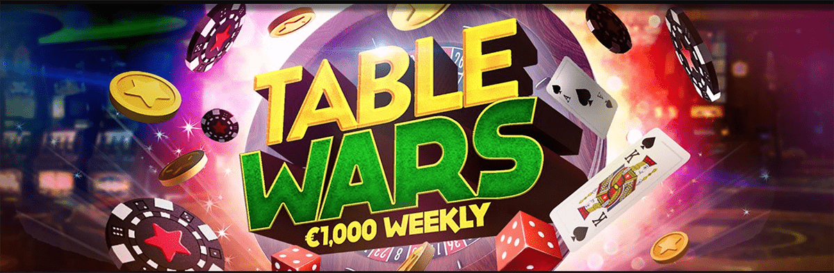 Climb the weekly leaderboard on Bitstarz's table wars