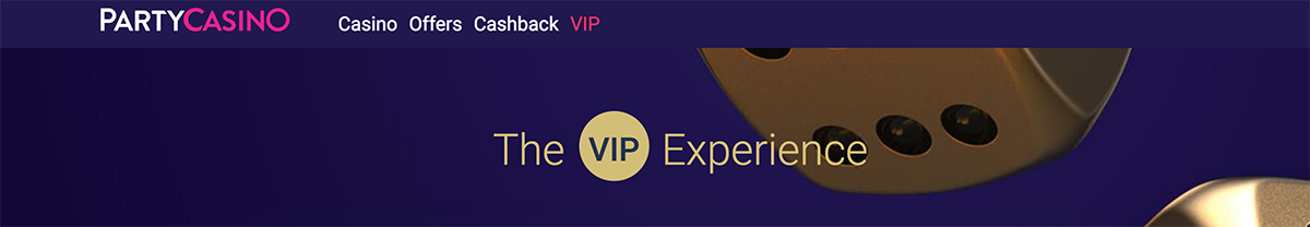 join party casino's vip program
